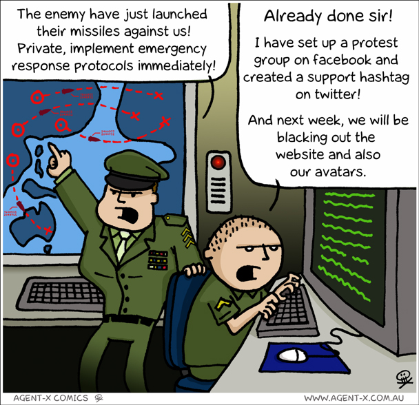 Slacktivism - and that's Before Buzz :-)