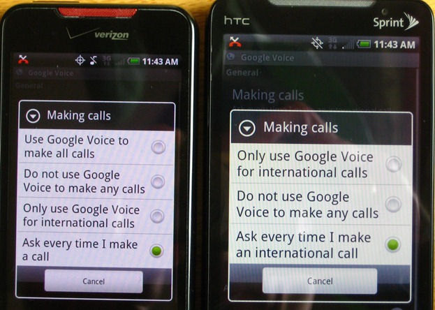 Does Sprint Limit Using Google Voice?