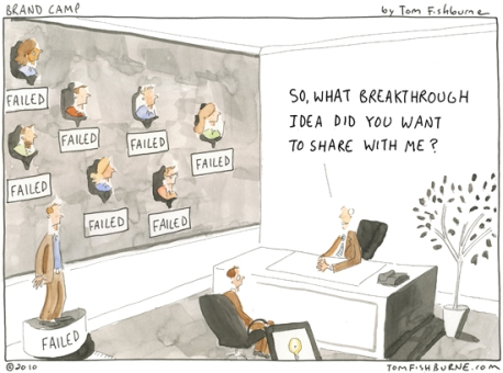 Change management: Denial and the fear of failure