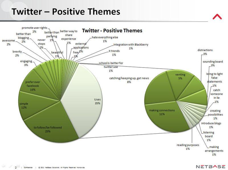NetBase -Twitter - Postive Themes