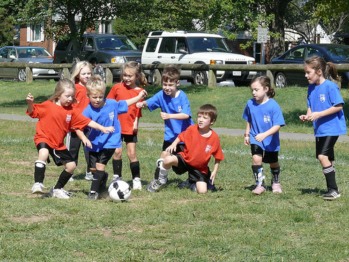 First Soccer Game by elstudio, on Flickr