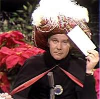 Carnac The Magnificent: Now The Answers To 2011′s Unknown Questions