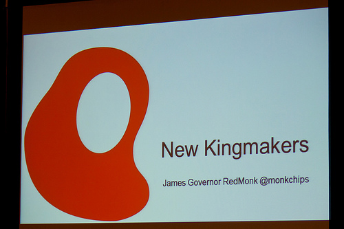 New Kingmakers – a discussion about where developers have been and where we are going, with James Governor
