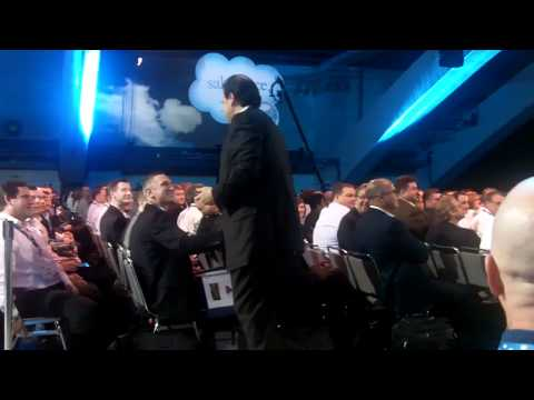 Marc Benioff and the Dreamforce crowd