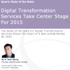 Research Preview: Digital Transformation Services Take Center Stage For 2015