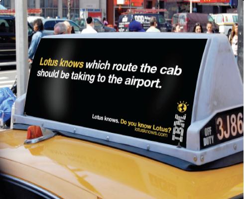Lotus knows taxi