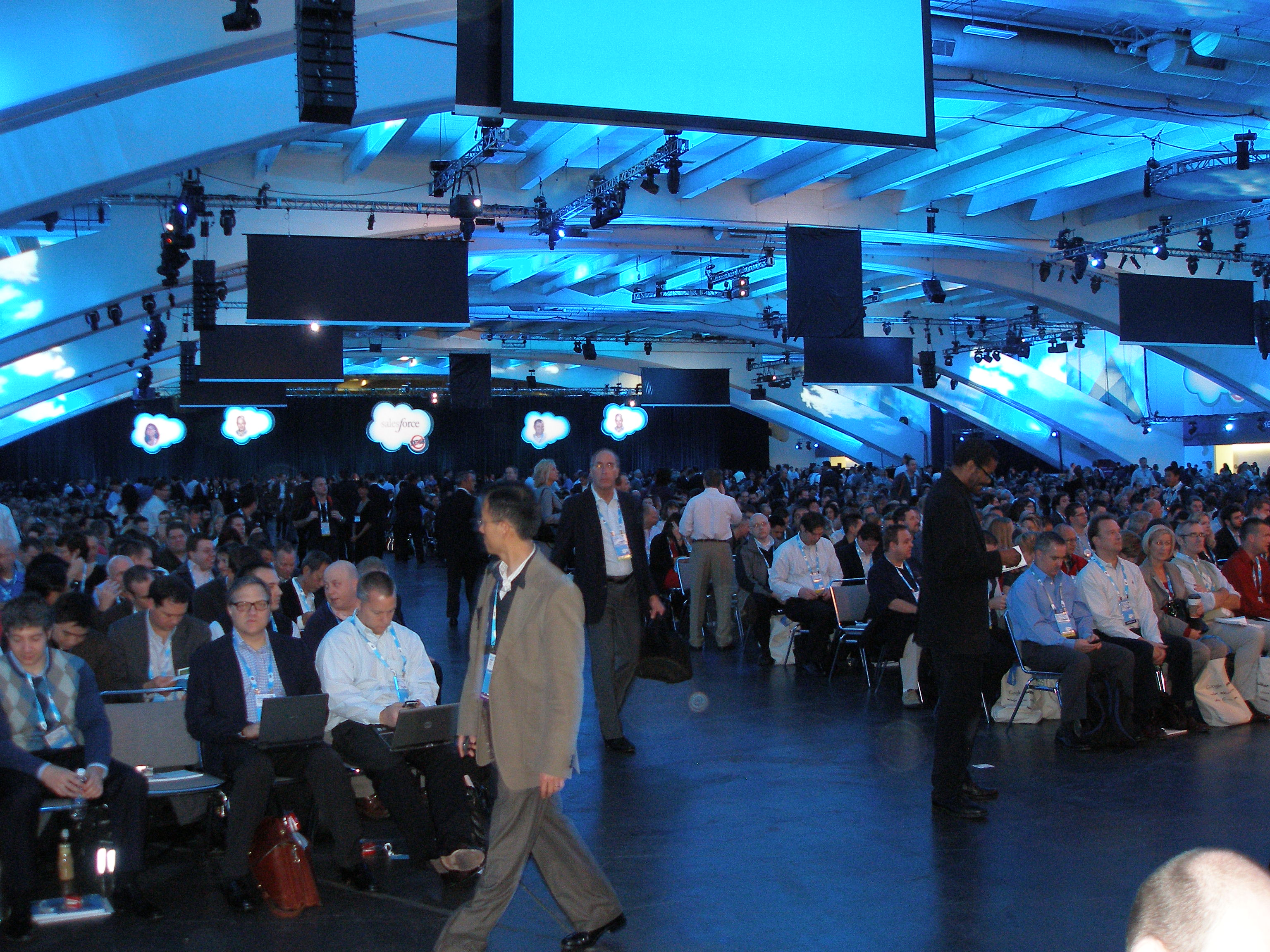 Dreamforce post#2: Chatter, Events, REA and the Future of Management