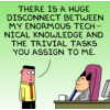 Dilbert on Technical Skills