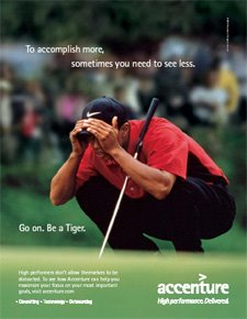 Top Ten Reasons Accenture is Pulling the Plug on Tiger