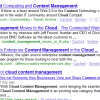 Cloud Content Management to Challenge ECM?