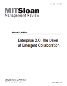 Enterprise 2.0: The Next Narrative