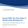 Research Report: The 18 Use Cases of Social CRM - The New Rules of Relationship Management
