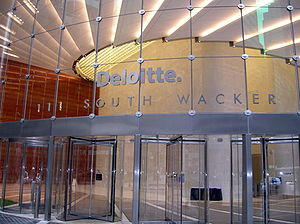 Deloitte Office Building in Downtown Chicago
