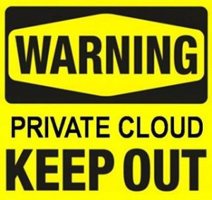 The Transient Nature Of Private Clouds