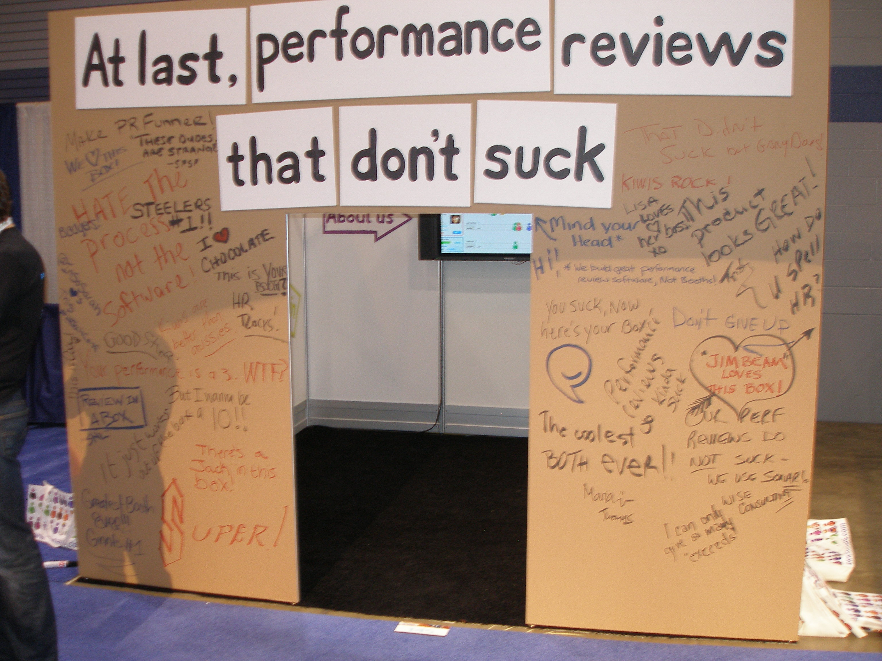 The Un-Booth: Guerilla Marketing at the HR Technology Show