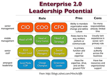 Who should be in charge of Enterprise 2.0?