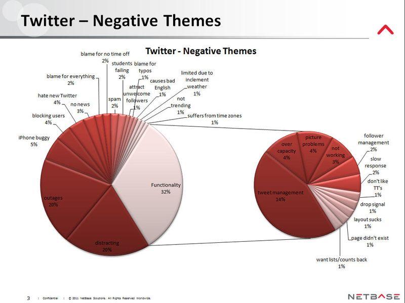 NetBase - Twitter - Negative Themes