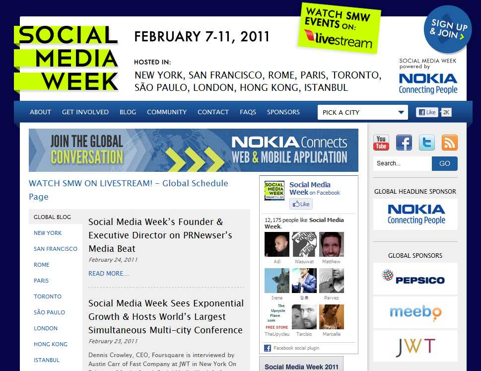 Social Media Week London - more out than in