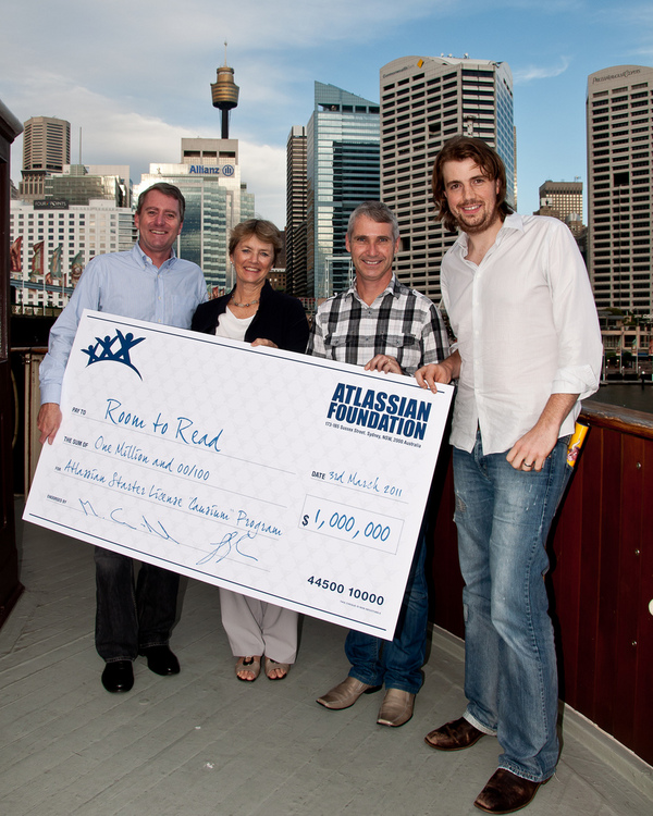 $25K … No, $100K… No, One Million Dollars to Charity by Atlassian