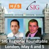 SIG goes on tour to London Town... meet Euan Davis (HfS), Jamie Liddell (Outsource Mag), Michael Stock (BBC), John Transier (Unilever) and Dr. Bernd Huber (Google)