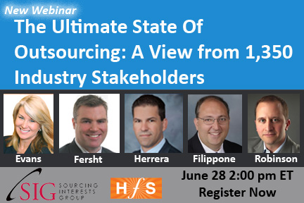 The Ultimate State Of Outsourcing: 1,350 industry stakeholders have spoken!