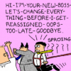 Dilbert on the HP CEO Carousel
