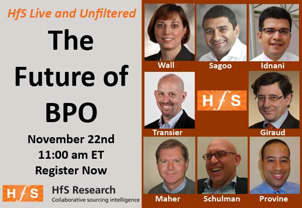 Don't miss tomorrow's web-debate – The Future of BPO