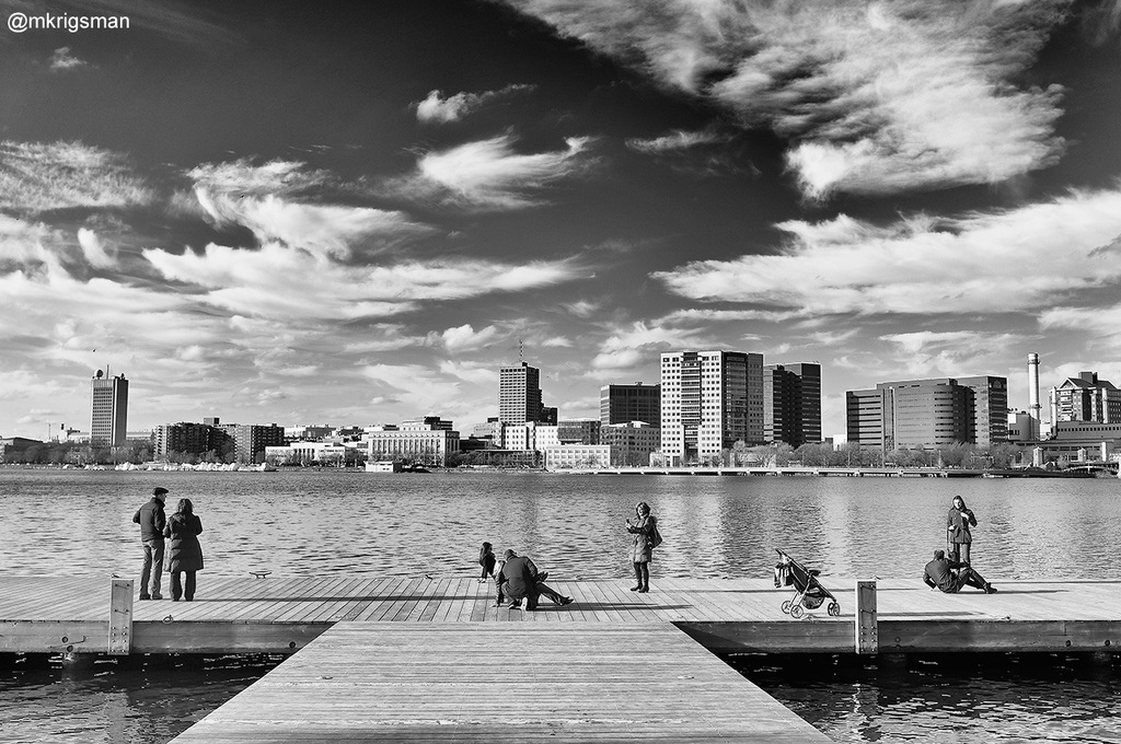 "Photo credit: ""Tourists on the Water in Boston"" by Michael Krigsman"