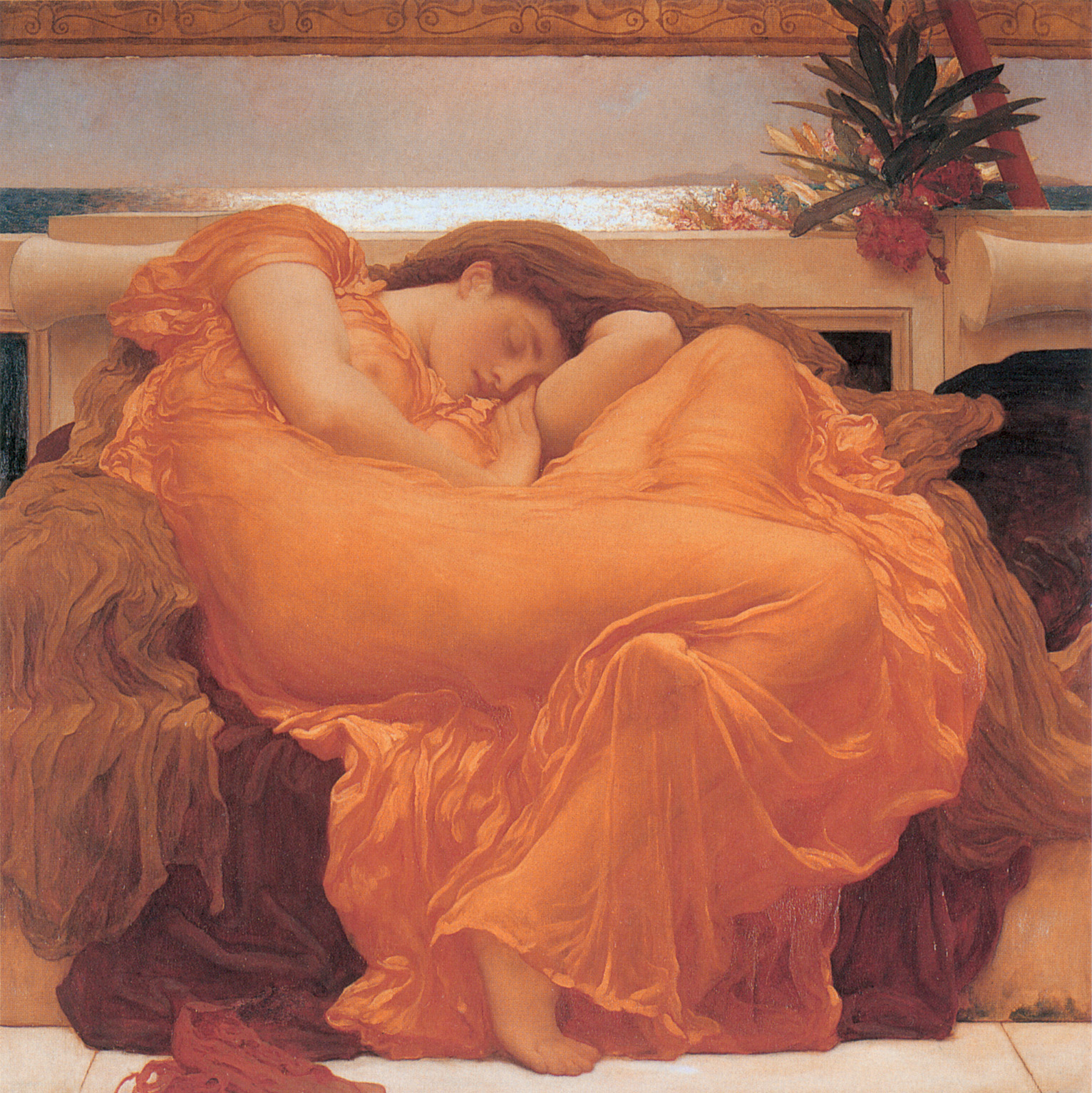 Flaming June, by Lord Frederic Leighton