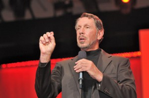 Larry Ellison: His public versus private cloud