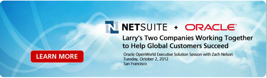 Oracle and NetSuite