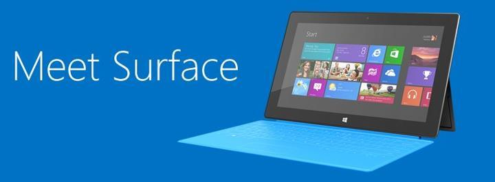 Saw the Microsoft Surface Tablet and Liked It