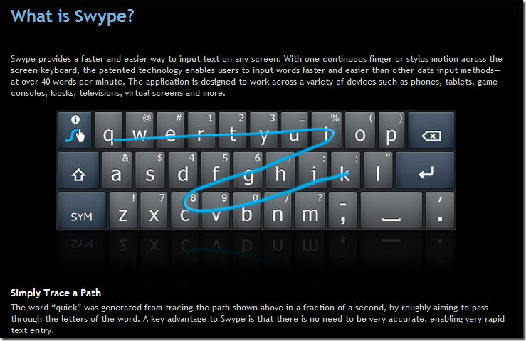 swype text iphone essential android apps for business all free 13070