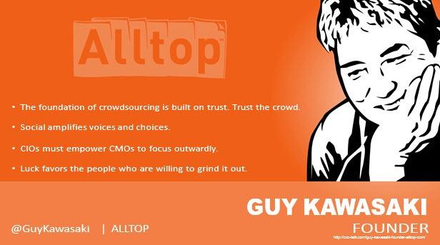 Guy Kawasaki, author and entrepreneur
