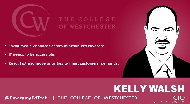 Kelly Walsh, CIO, College of Westchester