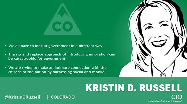 Kristin D. Russell, CIO, Colorado