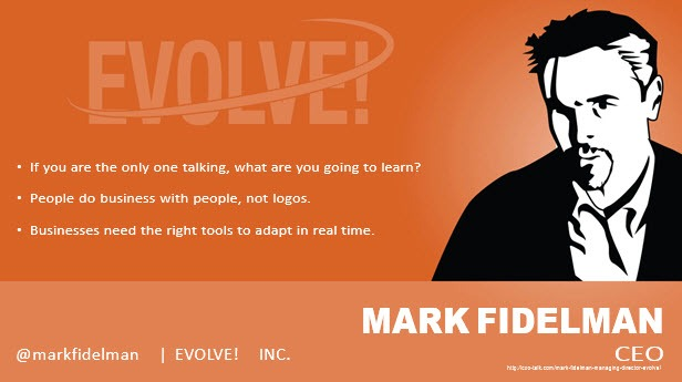 Mark Fidelman, CEO, Evolve!