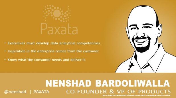 Nenshad Bardoliwalla, Co-Founder, Paxata