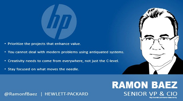Ramon Baez CIO HP