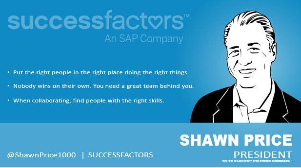 Shawn Price, President, SuccessFactors